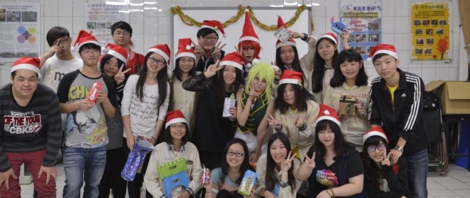 行動數位商務科聖誕節變裝秀!!!
